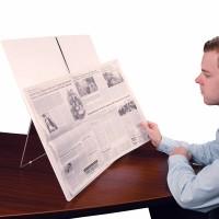 Kommunizieren - Zeitungshalter bei Reha Service