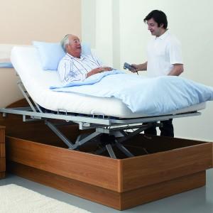 Belluno Bett-im-Bett System Pflegebetten