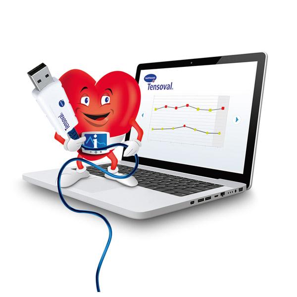 Blutdruckmessgerät Tensoval Duo Control Medizinisch-technische Geräte Reha Service