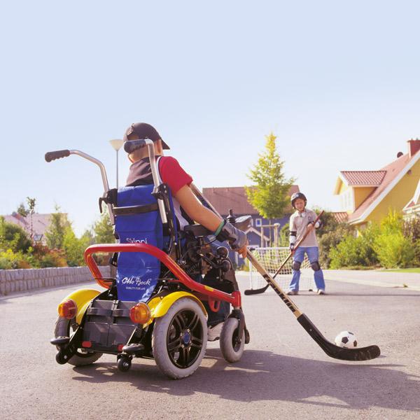 SkippiPlus Kinder Elektro-Rollstühle Reha Service
