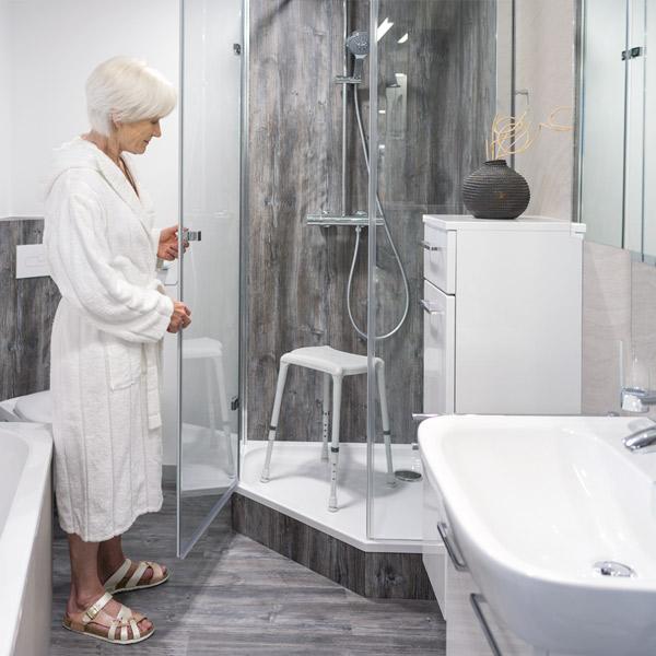 Duschhocker DOT Duschhilfen
