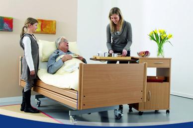Pflegebetten und Zubehör