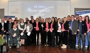 Über uns - 20 Jahre Reha Service - Mitarbeiter 2014Über uns - 20 Jahre Mitarbeiter
