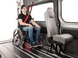 Personen-Rollstuhlsicherung